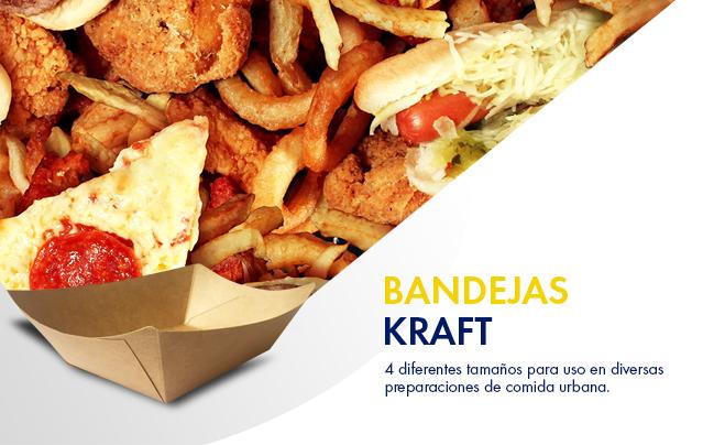 Bandejas Kraft