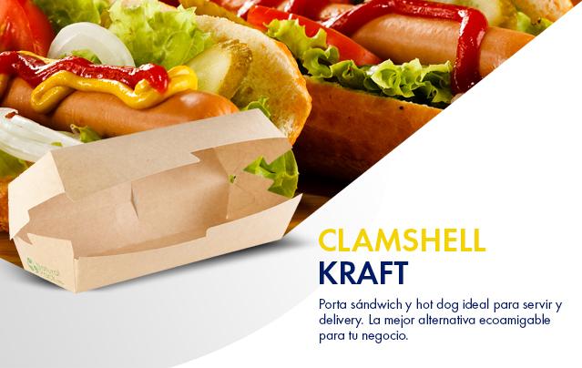 Clamshell Kraft