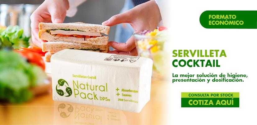 Servilleta Natural Pack